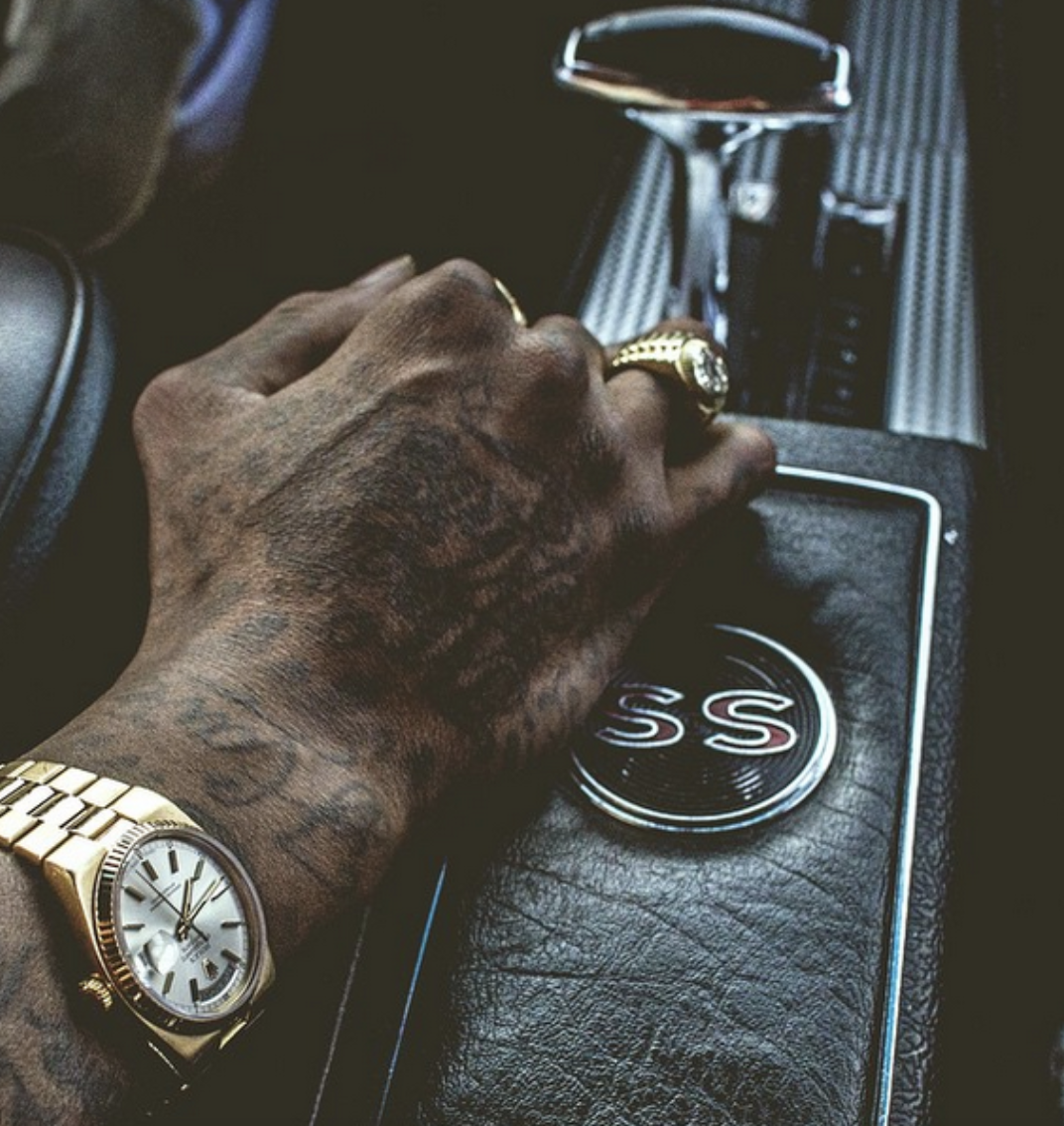 watches of hip-hop stars
