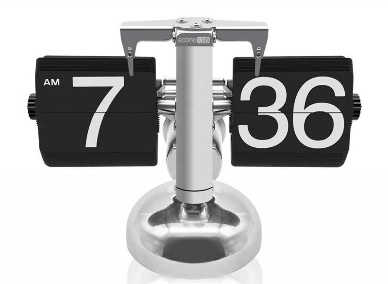 econoLED Modern Digital Retro Clock