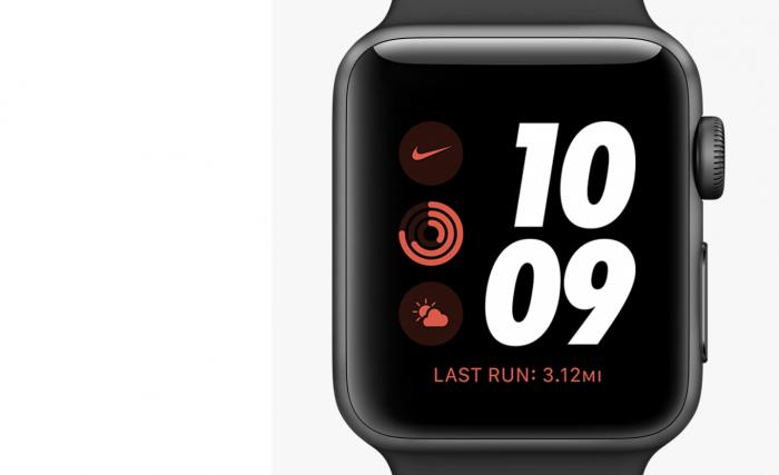 The Apple Watch Nike Series 3