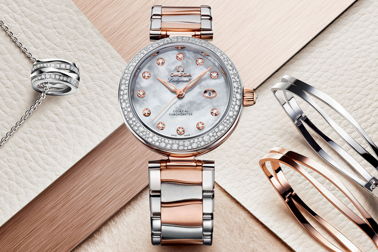 Omega De Ville Wedding Watches for the Bride and Groom