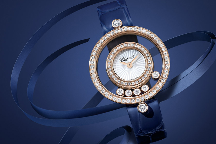 Chopard Happy Diamonds Wedding Watches for the Bride and Groom
