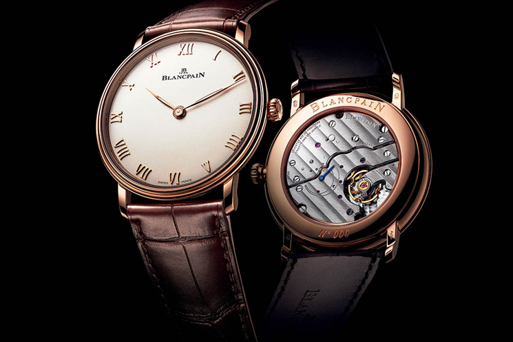 Blancpain Villeret Wedding Watches for the Bride and Groom