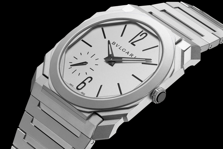 Bvlgari Octo Wedding Watches for the Bride and Groom