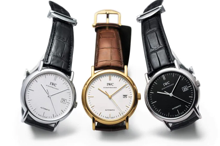 IWC Portofino Wedding Watches for the Bride and Groom