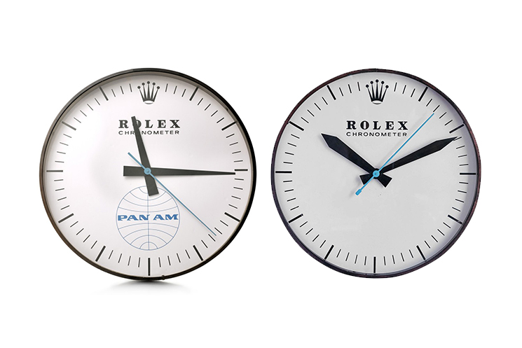 Wall Clocks: What You Need to Know Audemars Piguet Rolex Chronometer Wall Clock Pan-Am