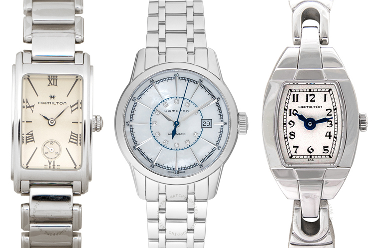 Hamilton American Classic Wedding Watches for the Bride and Groom