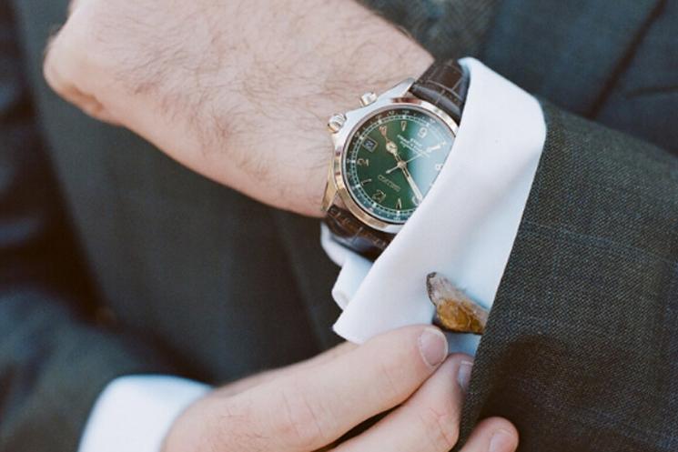 Luxury Cufflinks with Watches