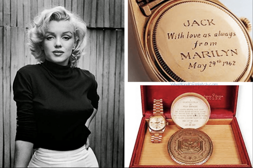 Rolex Day-Date from Marilyn Monroe to JFK