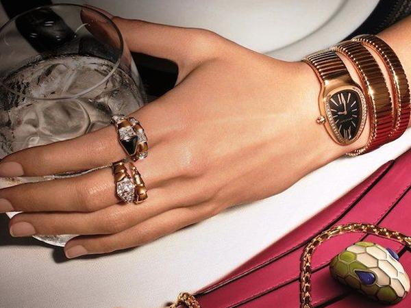 Bulgari Serpenti Jewelry and Watches