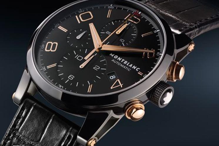Montblanc Timewalker Dual Carbon Chronograph