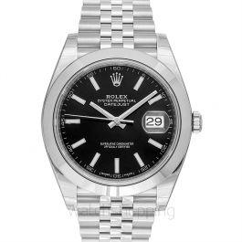 Rolex Datejust 126300 Black Jubilee