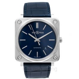 Bell & Ross Instruments BRS92-BLU-ST/SCR