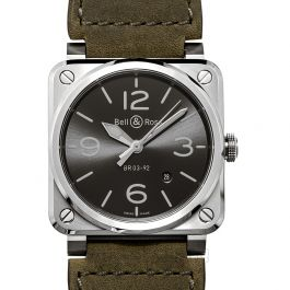 Bell & Ross Instruments BR0392-GC3-ST/SCA