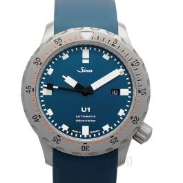 Sinn Diving Watches 1010.0102-Silicone-SFC-BLUE