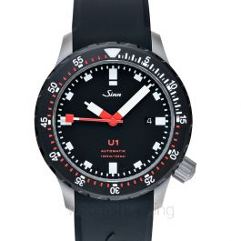 Sinn Diving Watches 1010.050-Silicone-LFC-Blk