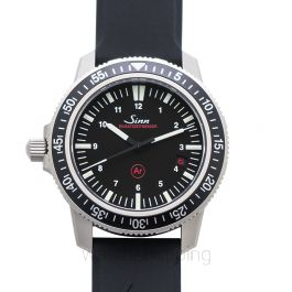 Sinn Diving Watches 603.010-Silicone-WPC-BLK