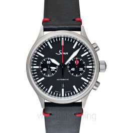 Sinn Instrument Chronographs 936.010-Leather-CIVS-Blk-DSR
