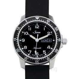 Sinn Instrument Watches 104.011-Silicone-Blk