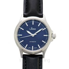 Sinn Instrument Watches 556.0104-Leather-Calfskin-Blk