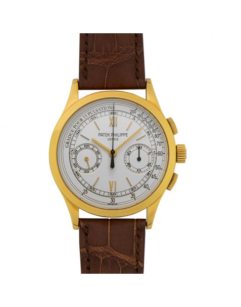 65c7b2851eb Patek Philippe Complications Chronograph Opaline White Dial Men's Watch 39mm