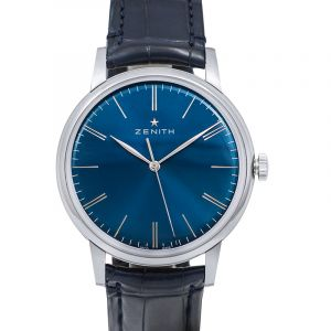Elite 6150 Stainless Steel Automatic Blue Dial Men's Watch