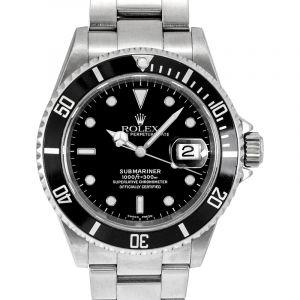 Submariner Date Black/Steel 40mm