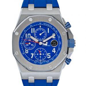 Royal Oak Offshore Blue Dial Men's Watch