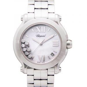 Happy Sport Quartz Mother of pearl Dial Diamonds Ladies Watch
