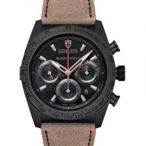 FastRider Black Shield Chrono Ceramic Automatic Black Dial Men's Watch