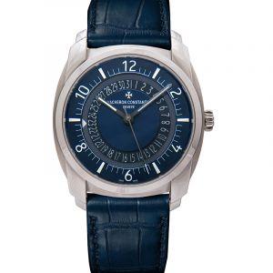 Quai de L'ile Blue Dial Automatic Men's Watch
