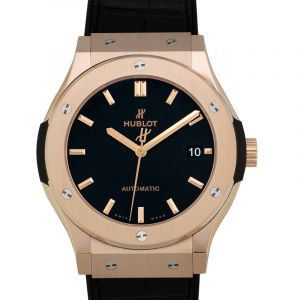 Classic Fusion King Gold Automatic Black Dial Men's Watch