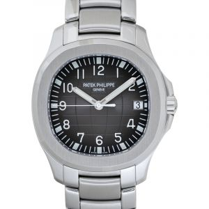 Aquanaut Black Dial Men's Watch
