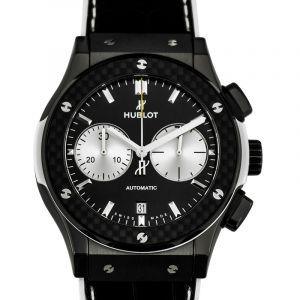 Classic Fusion Chronograph Juventus Automatic Black Dial Ceramic Men's Watch