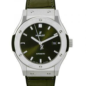 Classic Fusion Green Titanium Automatic Green Dial Men's Watch
