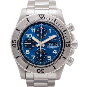 Superocean Chronograph Steelfish Blue Steel 44mm