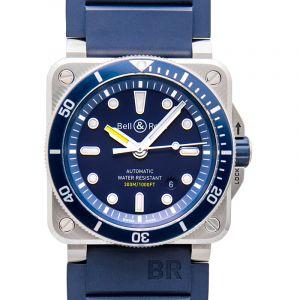 Instruments BR 03-92 Diver Blue Men's Watch
