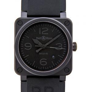 Instruments BR 03 92 Phantom Ceramic Men's Watch