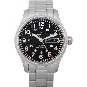 Khaki Field Automatic Black Dial Stainless Steel Men's Watch