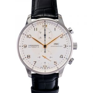 Portugieser Chronograph Automatic Silver Dial Men's Watch