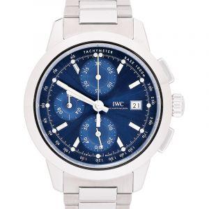 Ingenieur Chronograph Automatic Blue Dial Men's Watch
