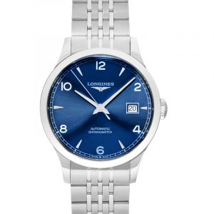 Record Automatic Blue Dial Men's Watch