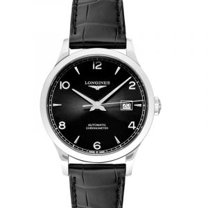 Record Automatic Black Dial Men's Watch