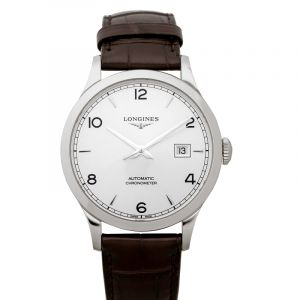 Record Automatic Silver Dial Men's Watch