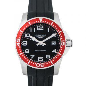 HydroConquest Black Dial Men's Watch