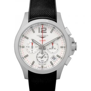 Conquest VHP Quartz Silver Dial Men's Watch