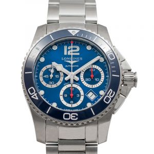 Hydroconquest Automatic Blue Dial Men's Watch
