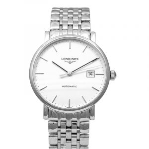 The Longines Elegant Collection Automatic White Dial Men's Watch