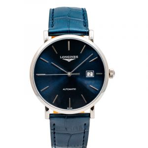 The Longines Elegant Collection Automatic Blue Dial Men's Watch