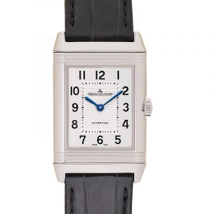 Reverso Classic Medium Automatic Silver Dial Ladies Watch