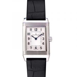 Reverso Classic Small Quartz Silver Dial Ladies Watch